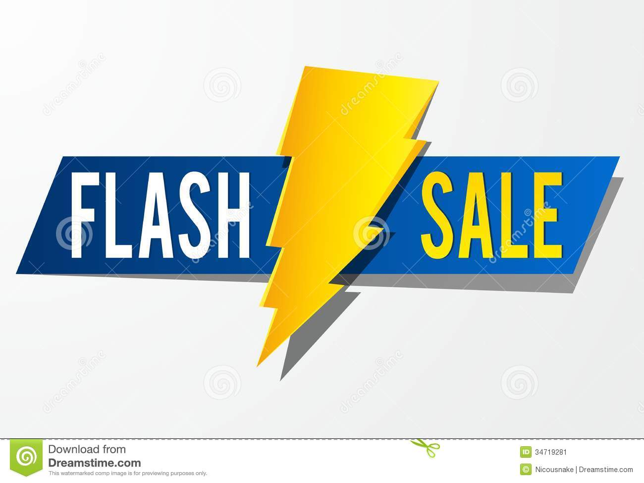Flash Sale Stock Image - Image: 34719281