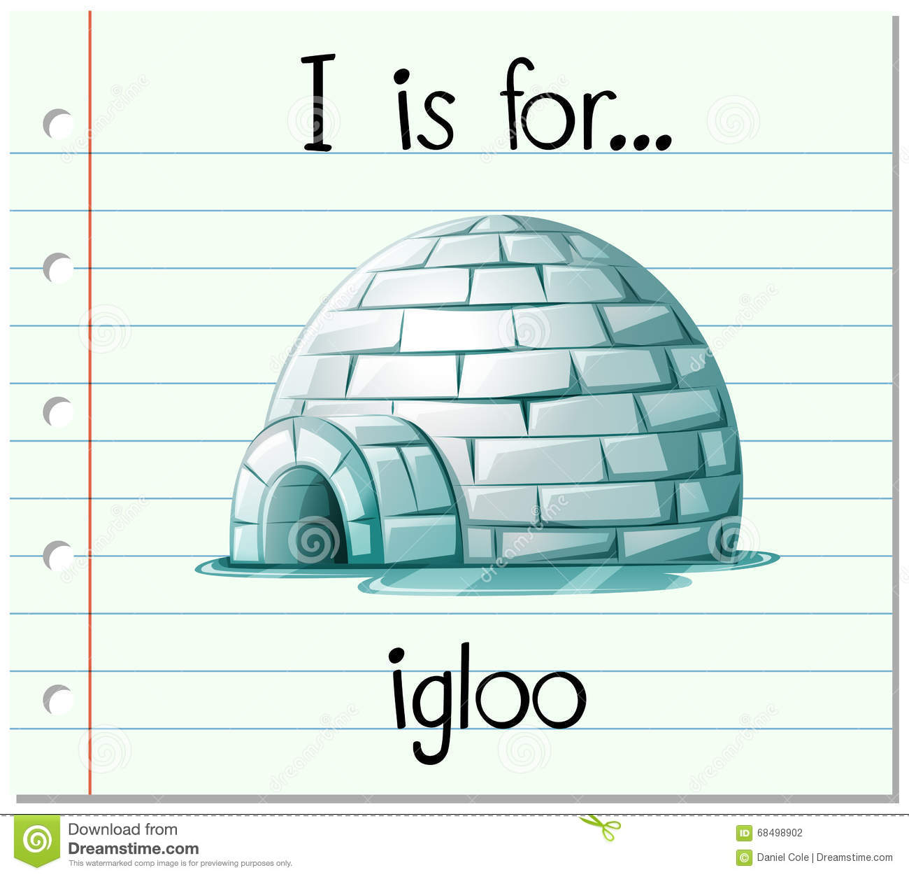 flashcard alphabet i is for igloo stock vector image spelling clip art funny spelling clip art funny