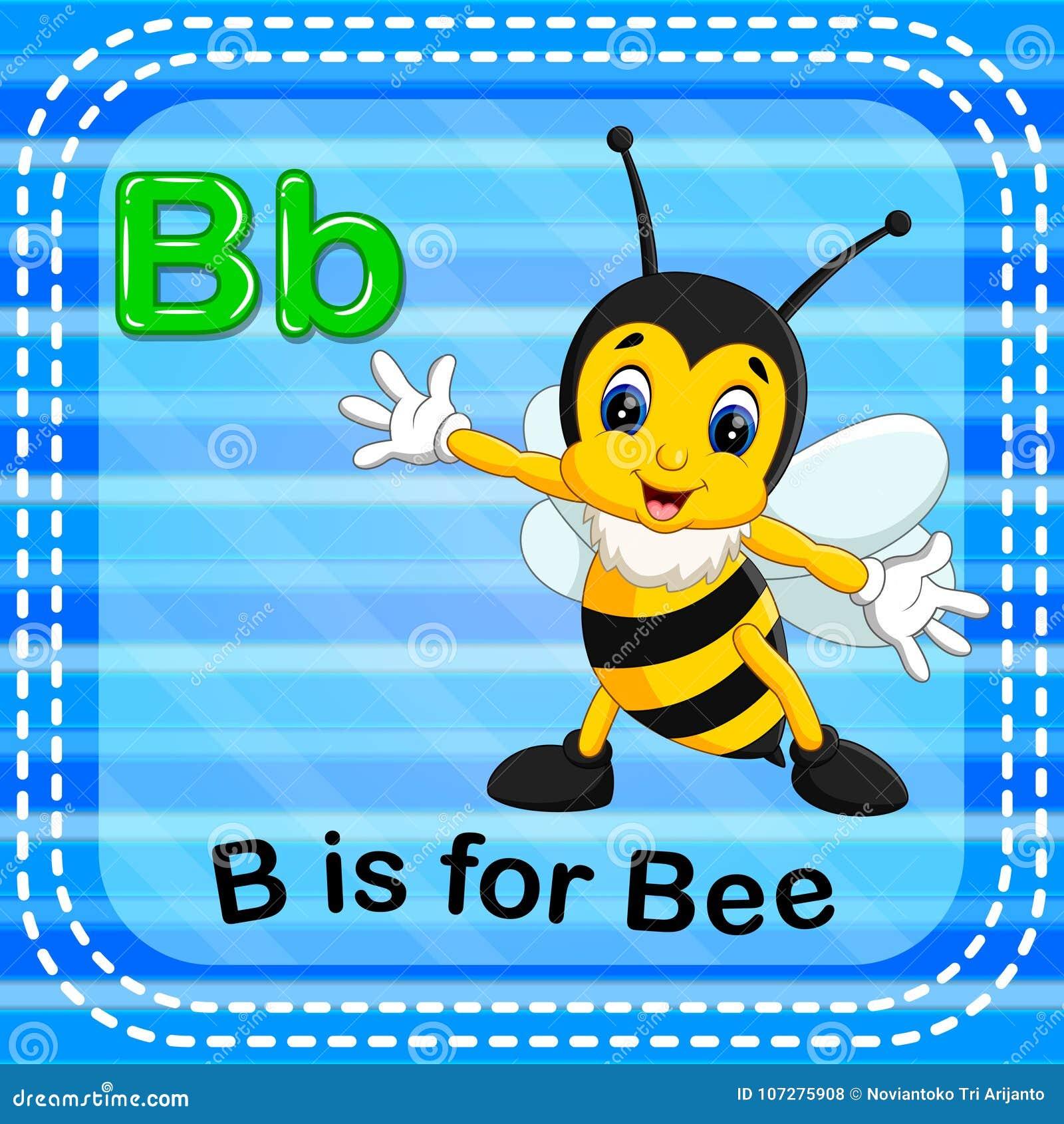 Letter B Bee Stock Illustrations – 750 Letter B Bee Stock ...