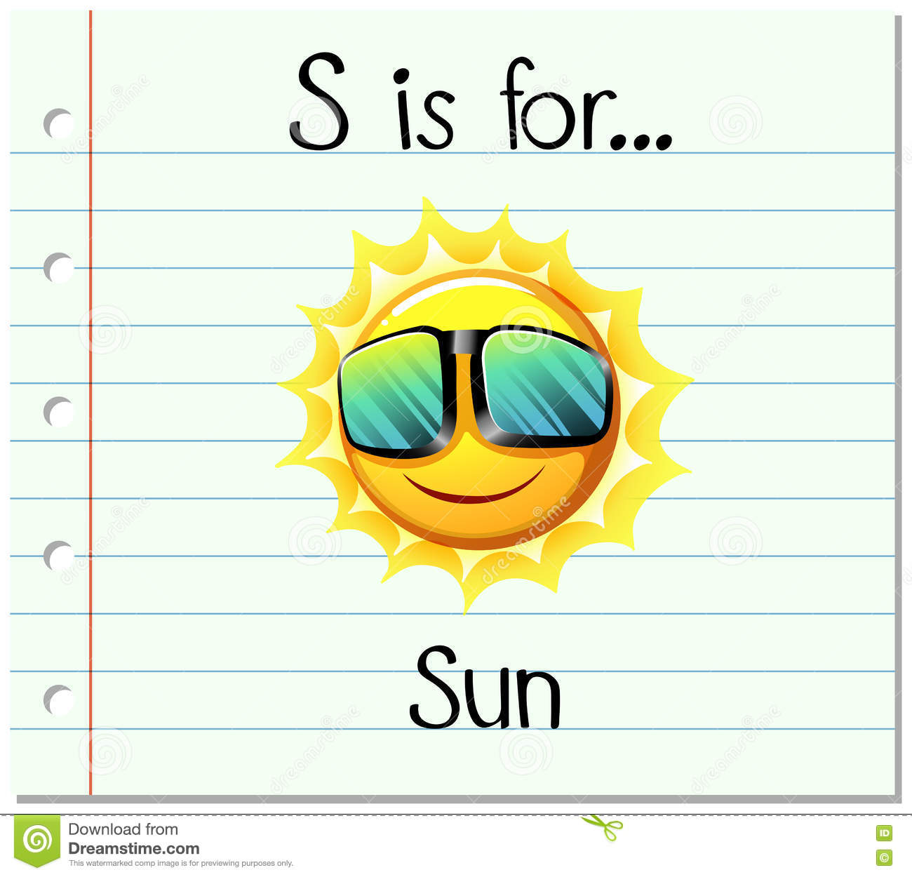 flashcard letter s is for sun stock vector illustration sun clipart free black and white sun clip art free downloadable