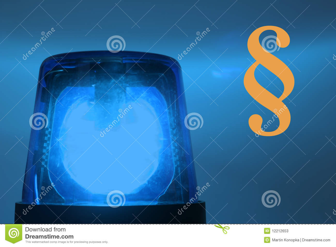 Flashing Blue Light Stock Image Image Of Lights Help
