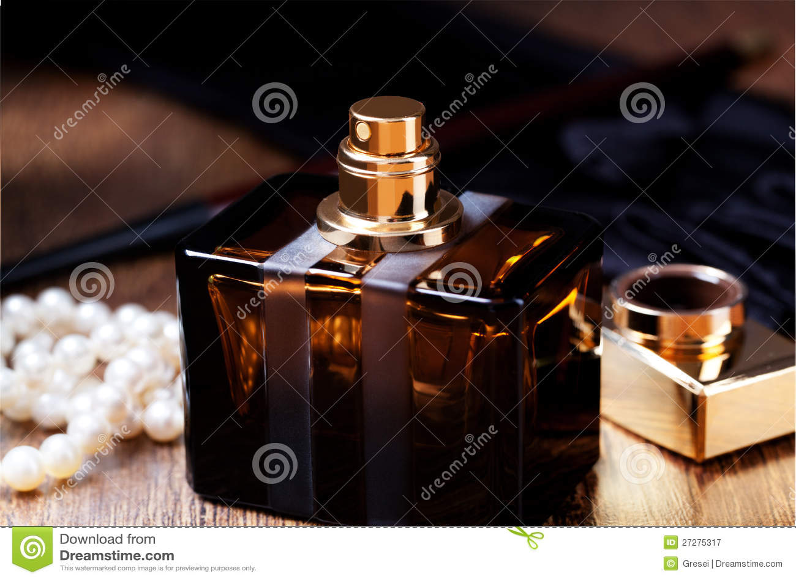 Flaska av doft