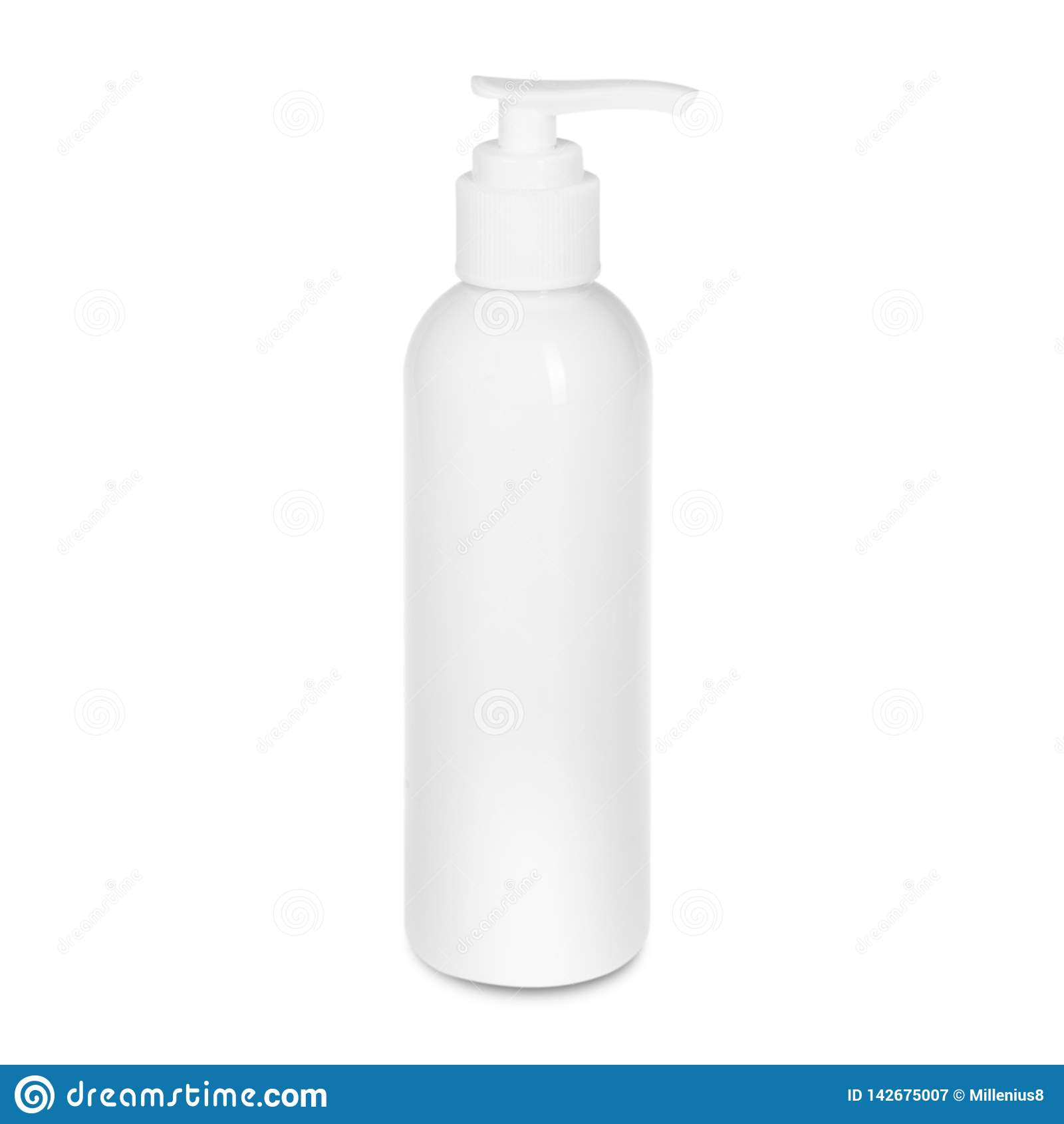 Flaska på vit backgroun