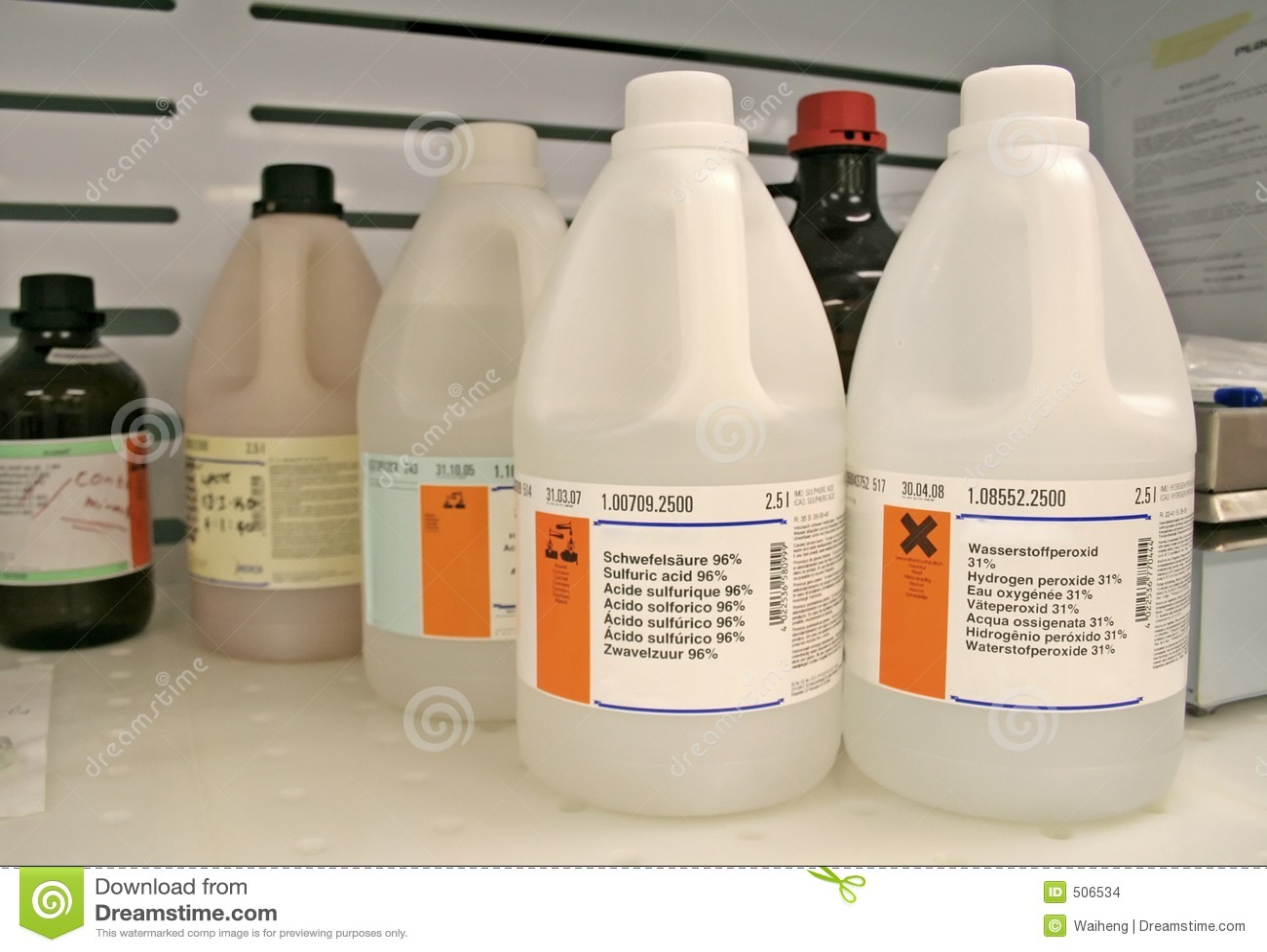 Flaskkemikalie