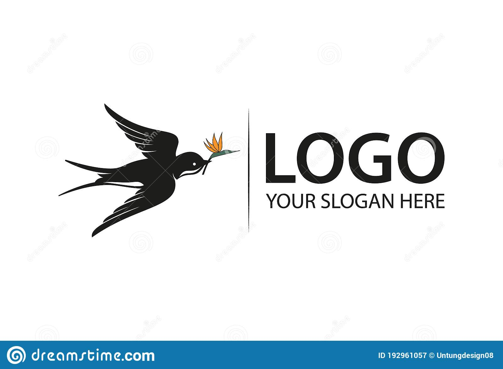black swallow bird with outspread wings and tail logo design stock vector illustration of black icon 192961057 black swallow bird with outspread wings and tail logo design stock vector illustration of black icon 192961057
