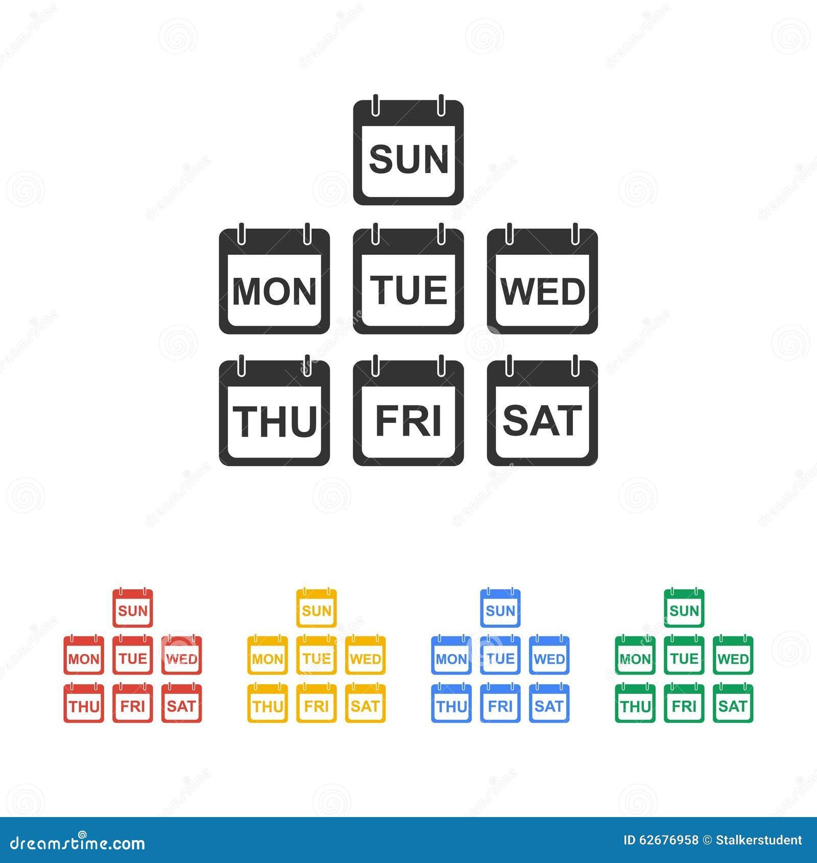 Calendar Sign Icon. July Month Symbol. Cartoon Vector ...