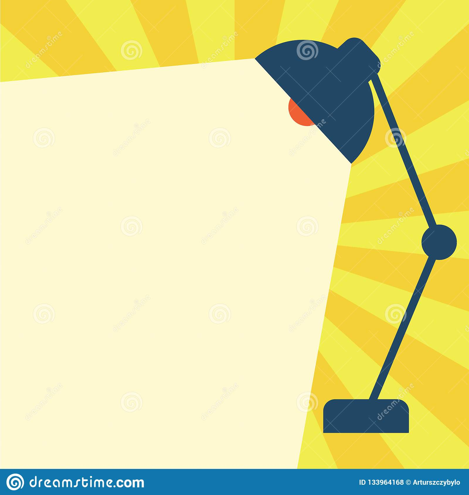 Flat design business vector illustration concept. Business ad for website and promotion banners. empty social media copy