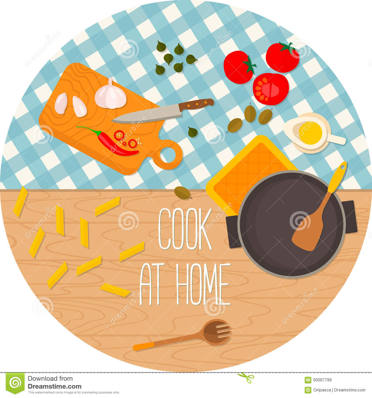 Food Book Cover Vector : Flat design food and cooking banner cartoon vector