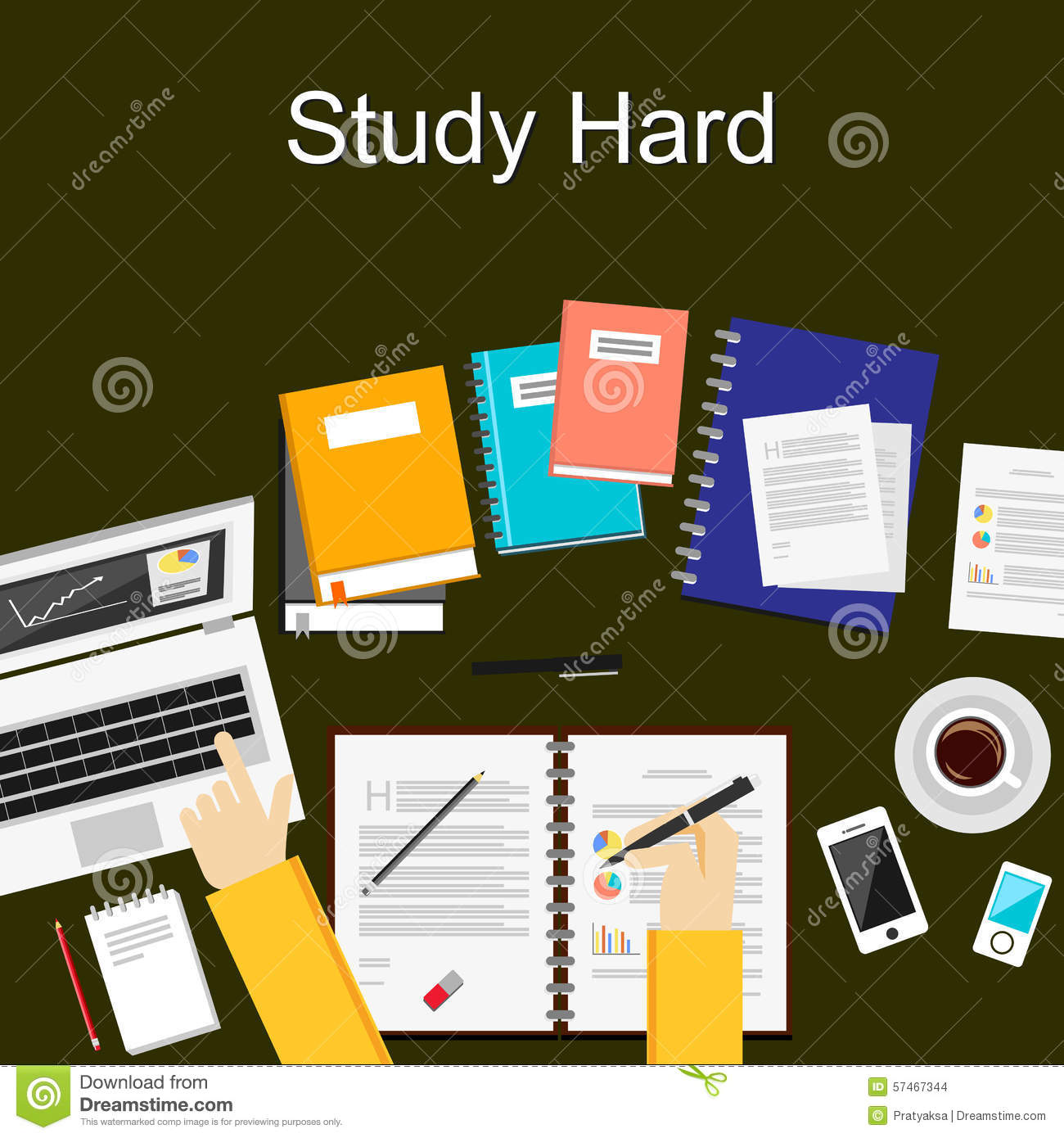 flat design illustration concepts for study hard working flat design illustration concepts for study hard working research analysis management
