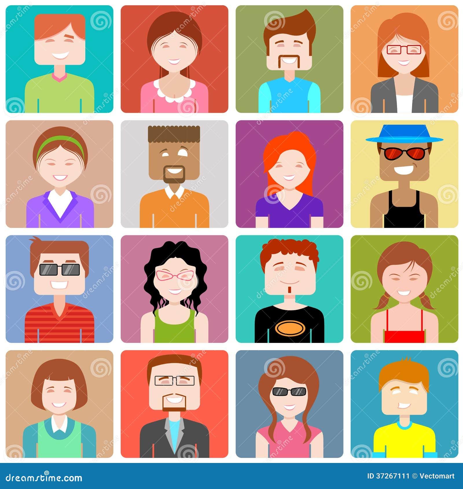 design people Flat Design People Icon Illustration 37267111   Megapixl design people