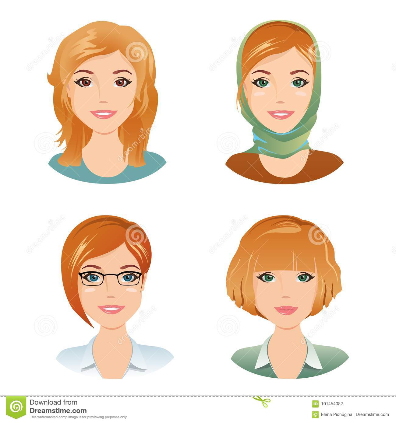 hairstyles Young adult women
