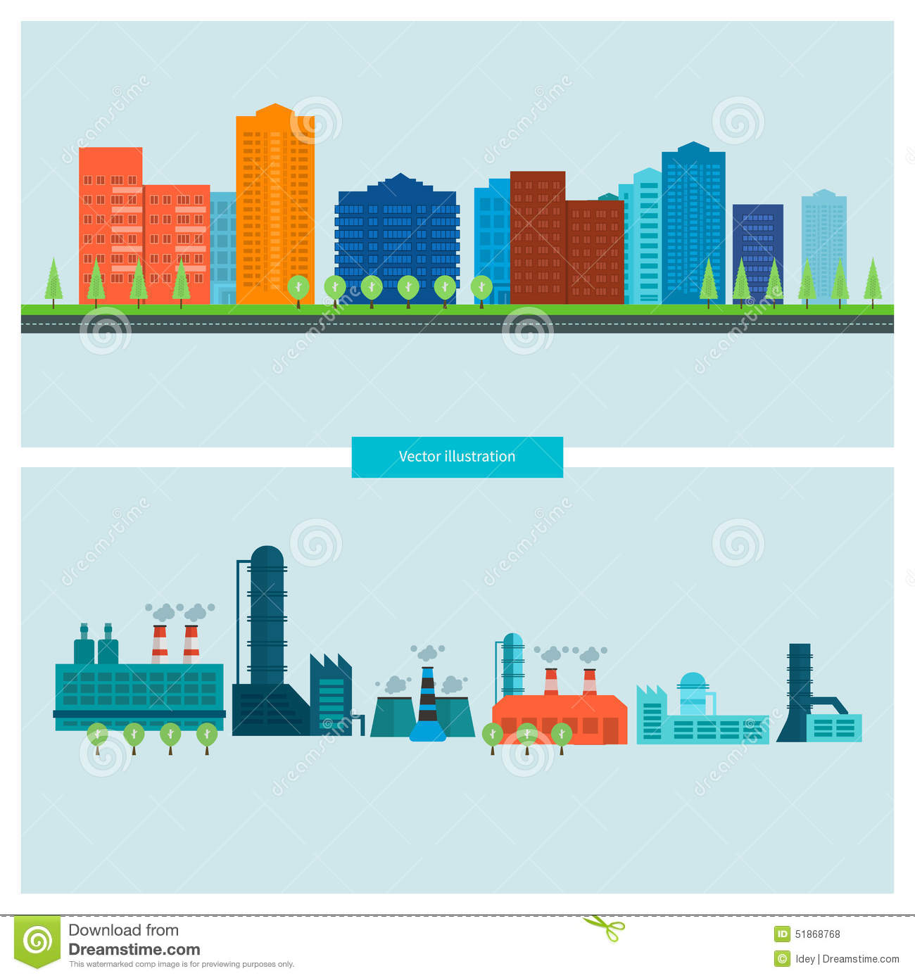 Flat design vector concept illustration with icons stock for Design build construction
