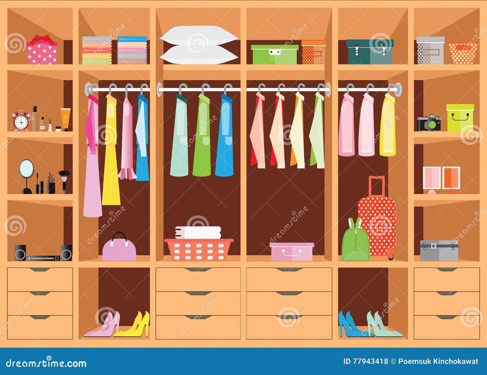 Bedroom Interior Design With Wardrobe