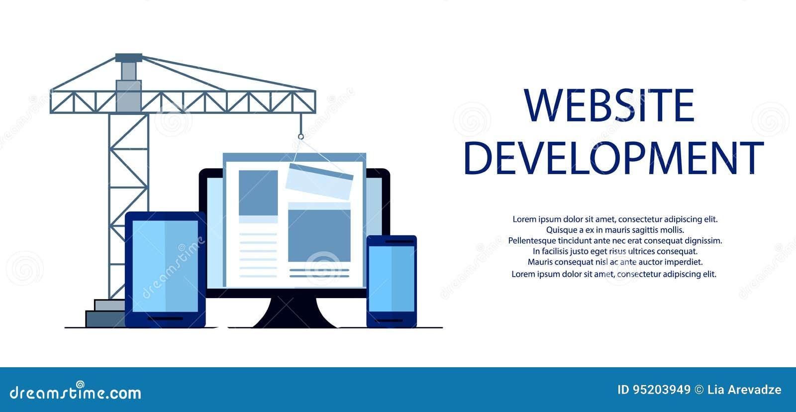 Site layout clipart for Building design website