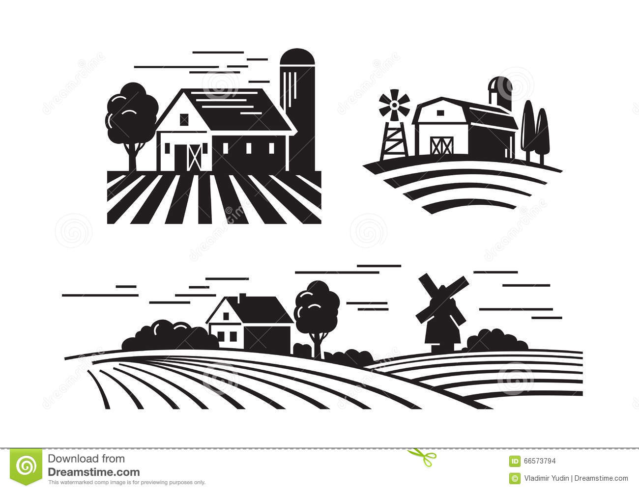 Plan 3212 75 4321 also 507 as well Stock Illustration Flat Farm Icons Vector Black White Image66573794 additionally 92 besides Obriss Farm 9796. on rural farmhouse plans