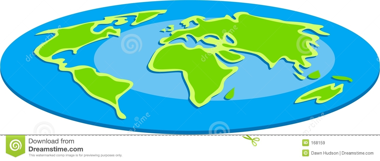Surprisingly accurate clipart of the flat earth map gumiabroncs Images