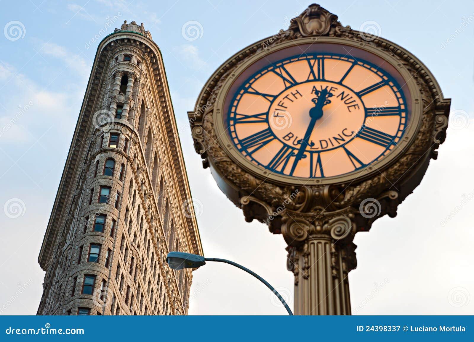 The Flat Iron building, Manhattan, new York city.