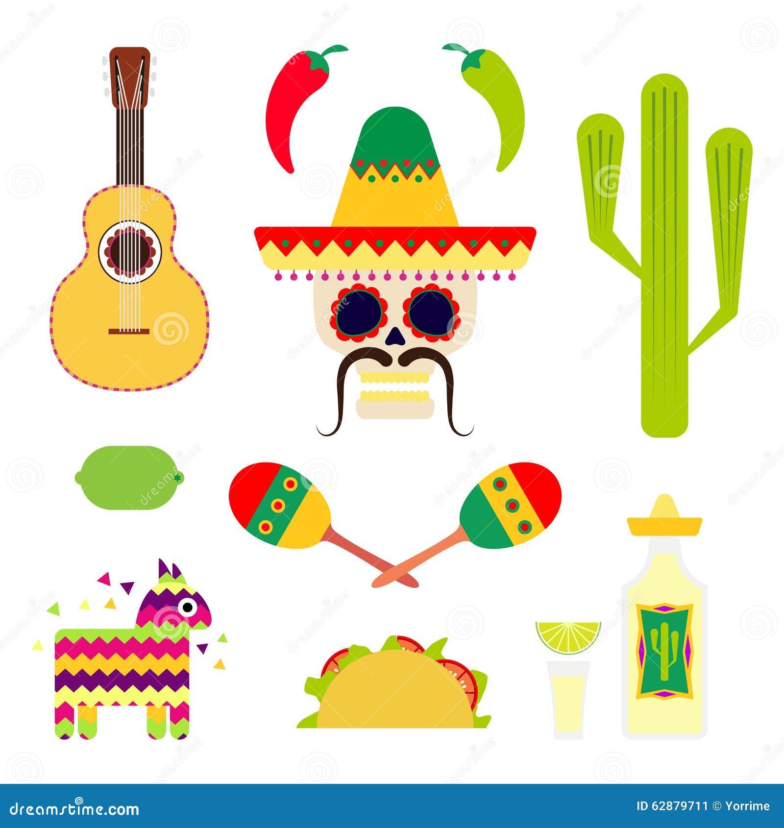 Flat Mexico Traditiona... Mexico Country Vector