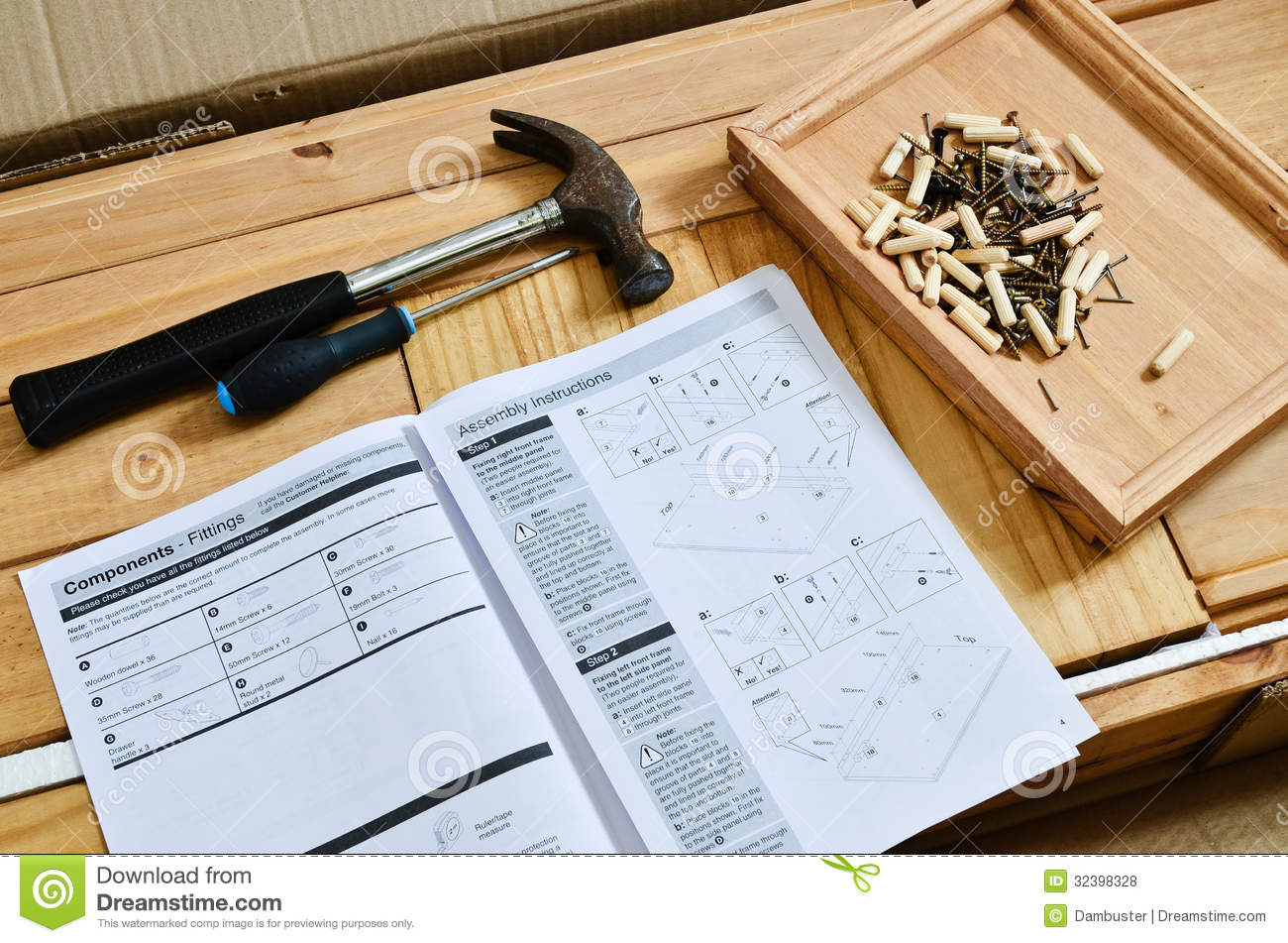 Flat pack furniture royalty free stock photos image 32398328 - Diy tips assembling flat pack furniture ...