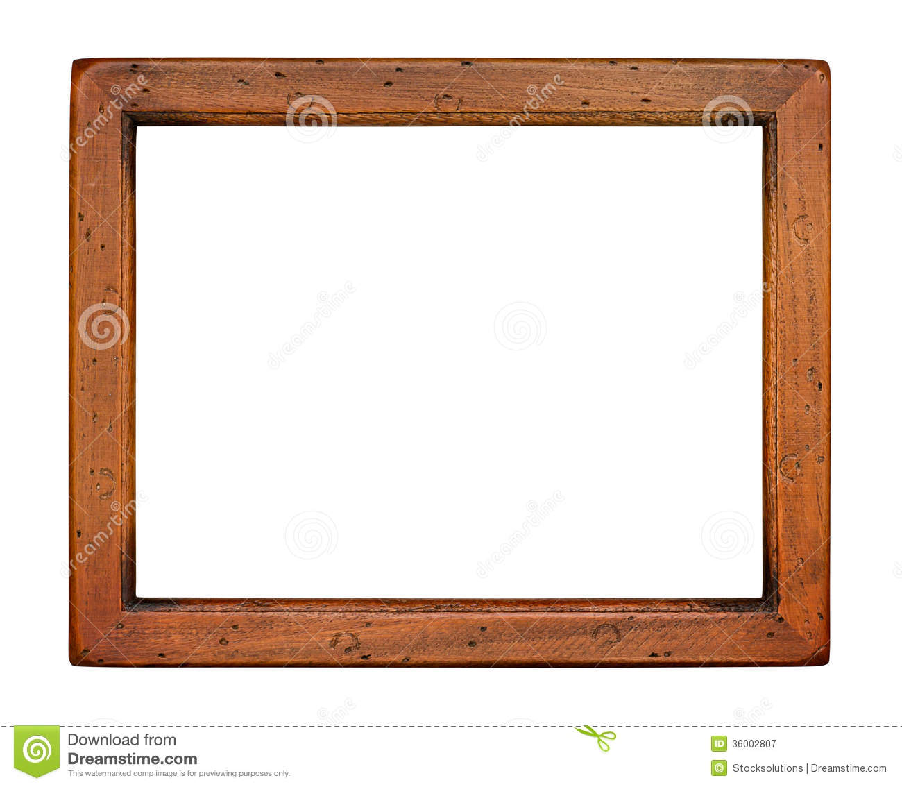 Flat Plain Wooden Picture Frame Stock Image - Image of ... Plain Wooden Frame