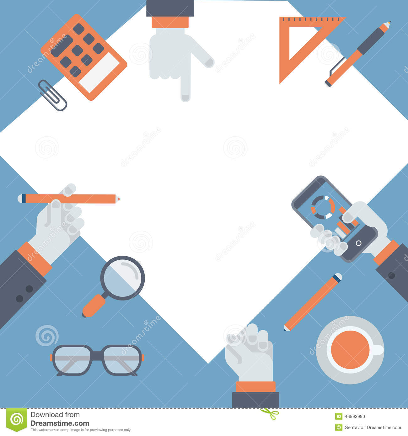 Flat Project Management Business Research New Idea Concept Stock Flat Project Management Business Research New Idea Concept Vector Illustration Infographics Icon Set Brainstorming Hands  Stock Photo Flat Project Management Business Research New Idea Concept Vector Illustration Infographics Icon Set Brainstorming Hands Image