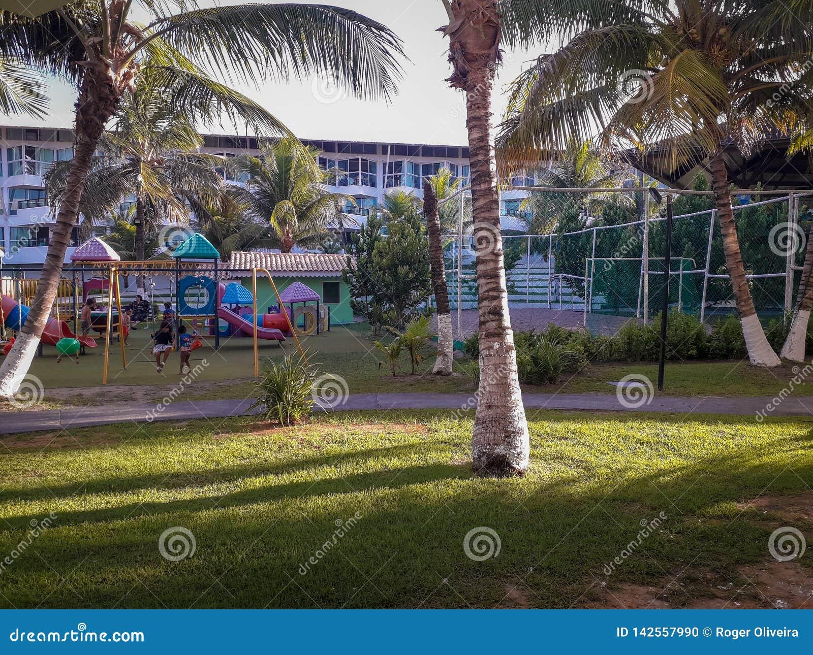 Flat resort on Porto de Galinhas, Pernambuco, Brazil