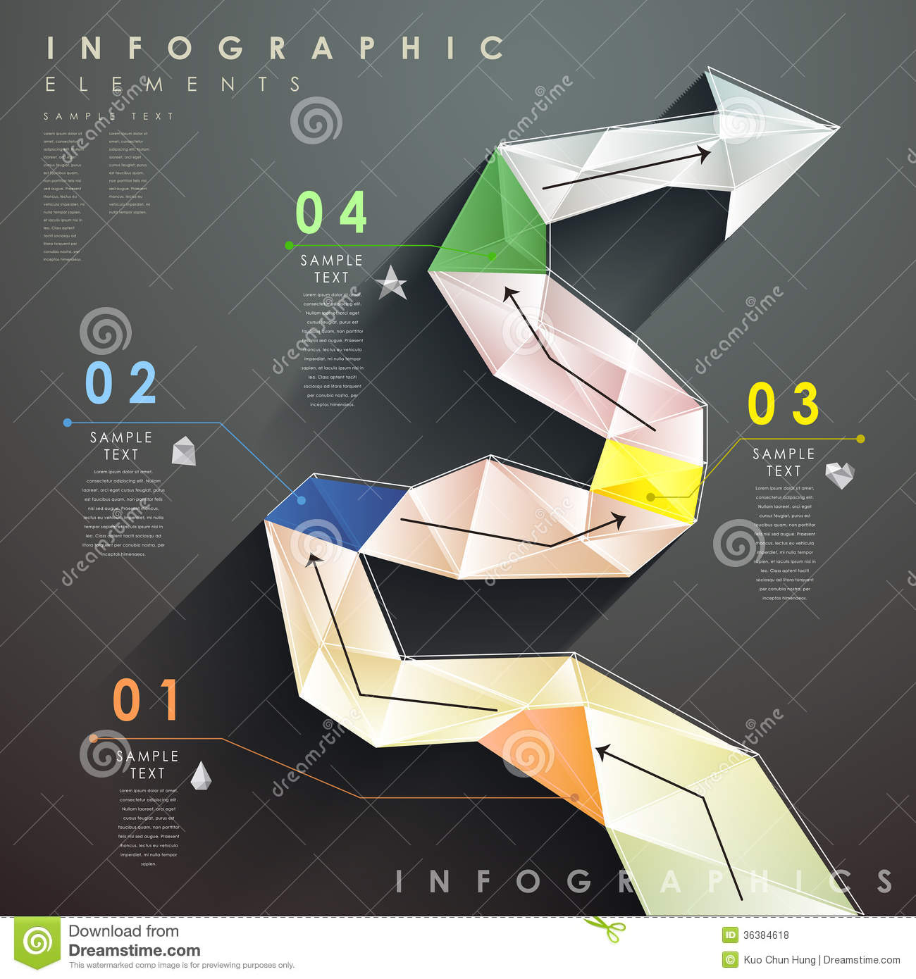 abstract flow chart infographics stock photos  images   amp  pictures    flat style abstract flow chart infographics royalty free stock photos
