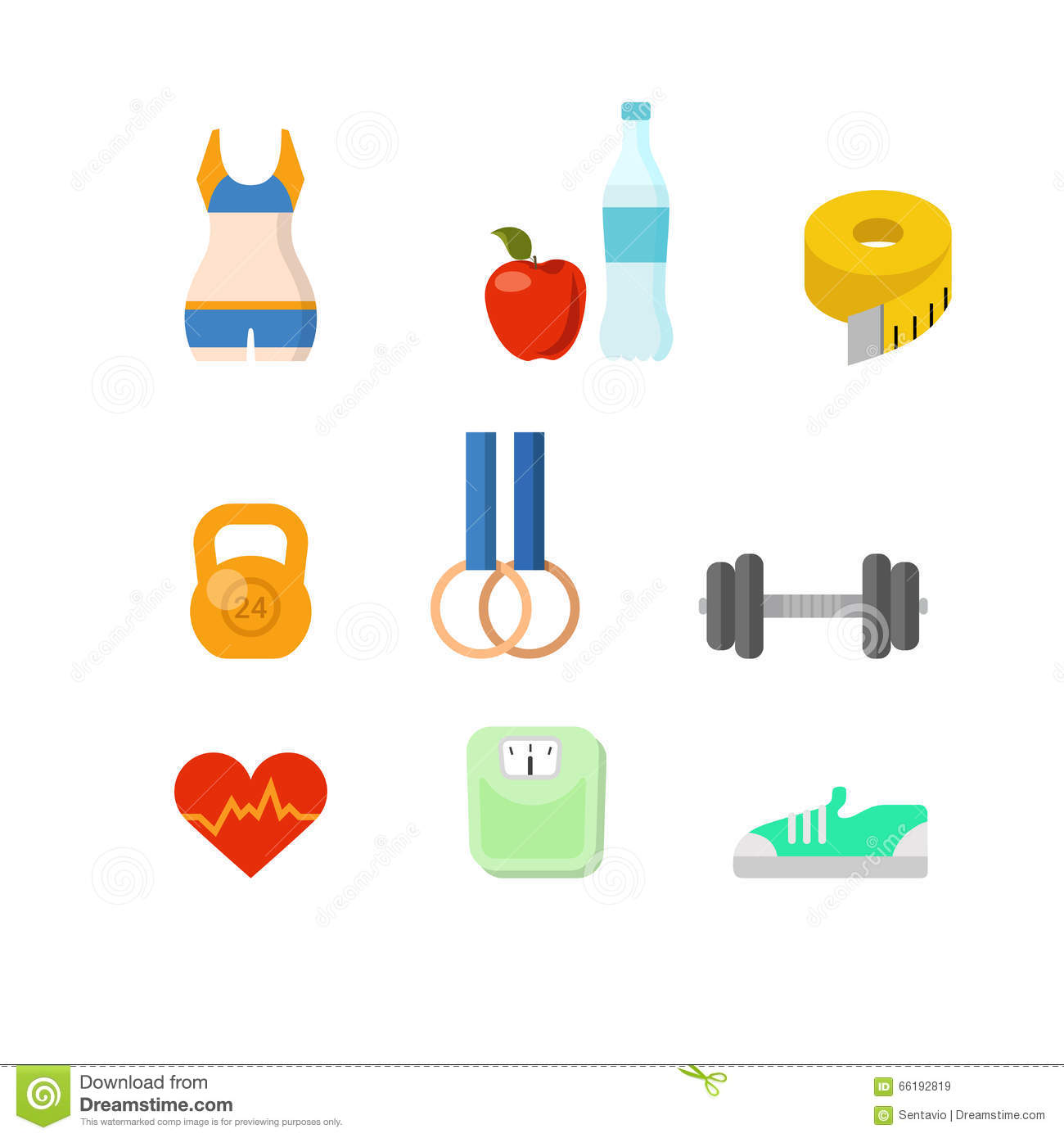 health sport app icon cartoon vector cartoondealercom
