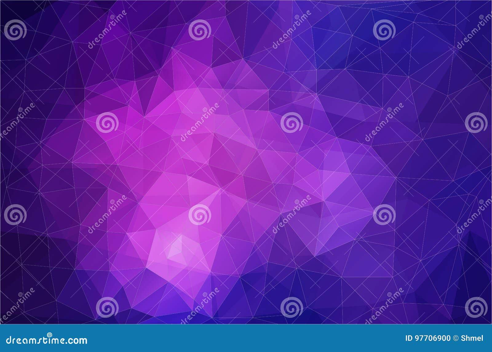 Flat Violet Triangle Geometric Wallpaper