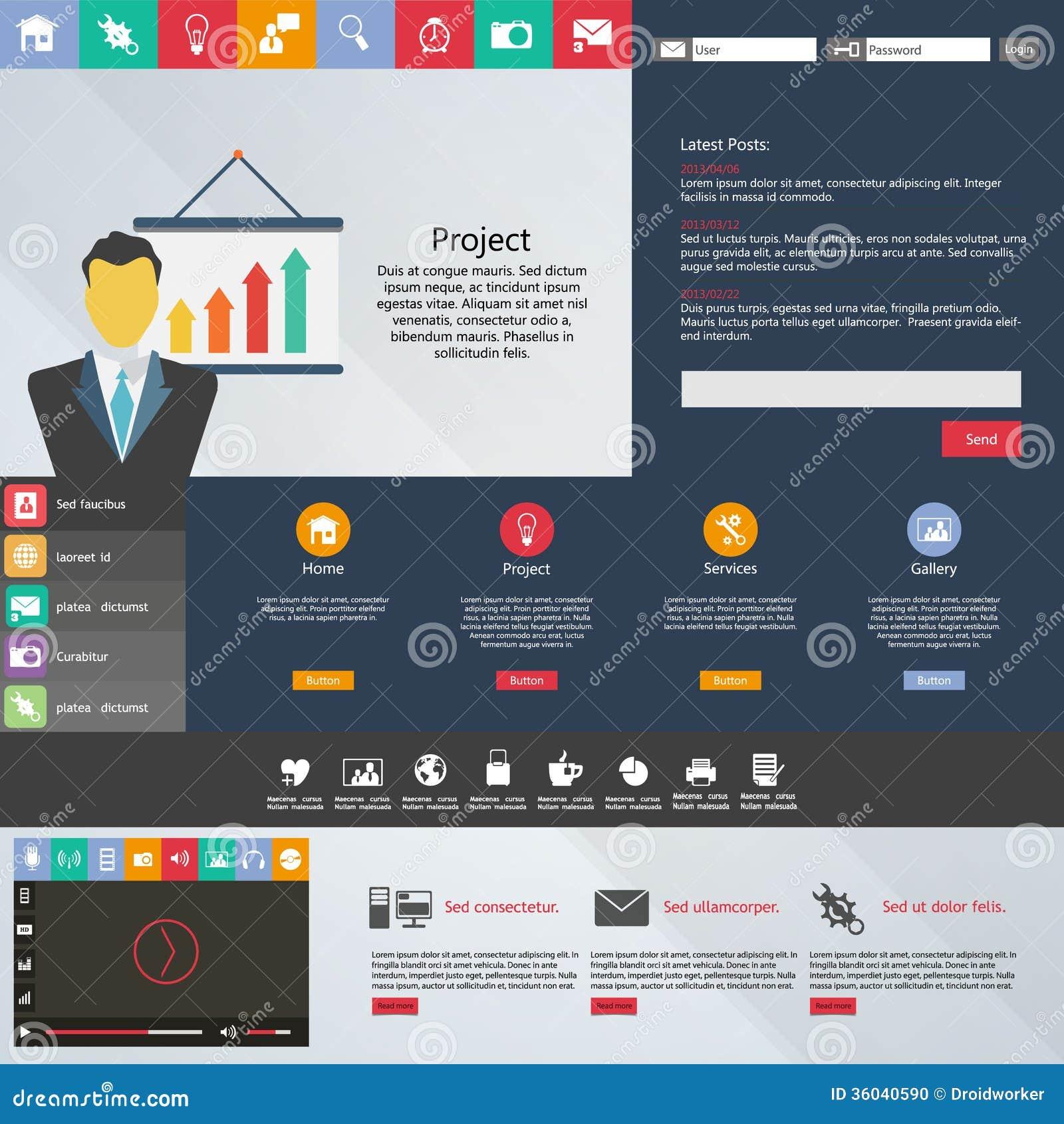 Tolle Design Web Vorlage Zeitgenössisch - Beispiel Wiederaufnahme ...