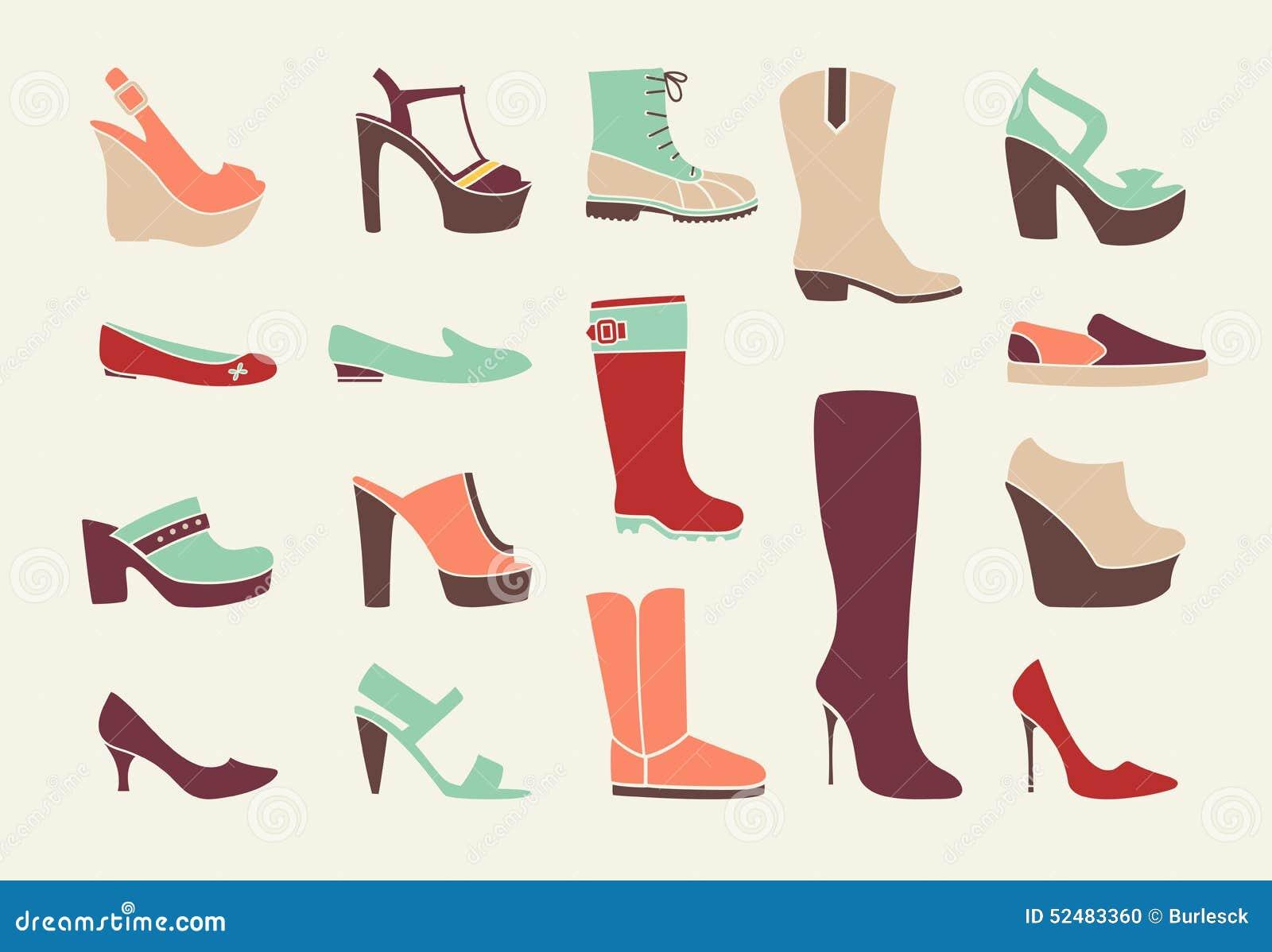 Original Fashion Illustrations Google Fashion Shoes Cowboys Shoe Illustration