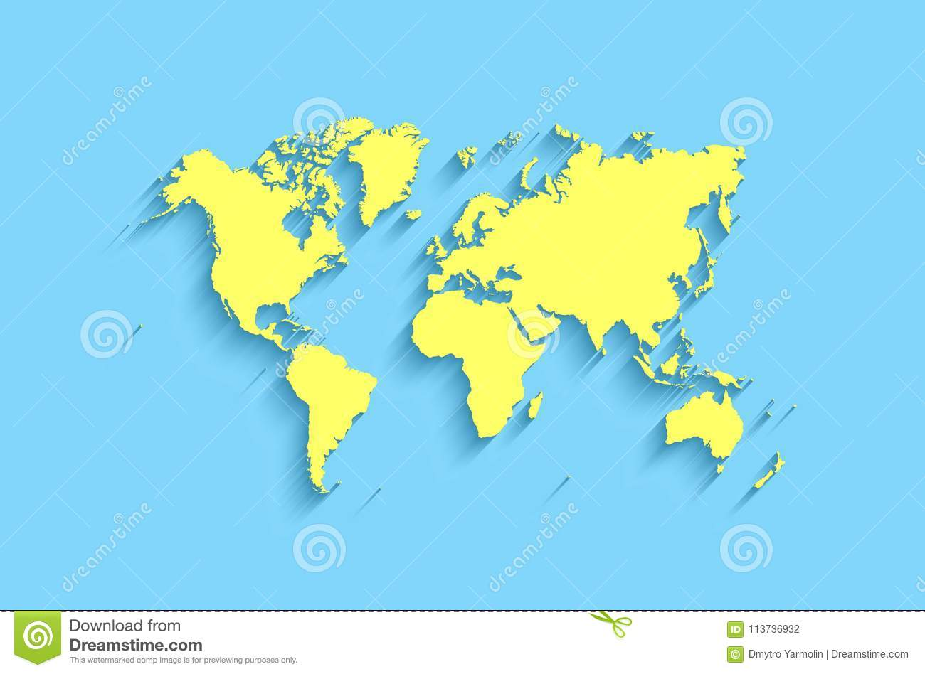 Flat world map abstract background for wallpaper stock illustration download flat world map abstract background for wallpaper stock illustration illustration of africa gumiabroncs Gallery