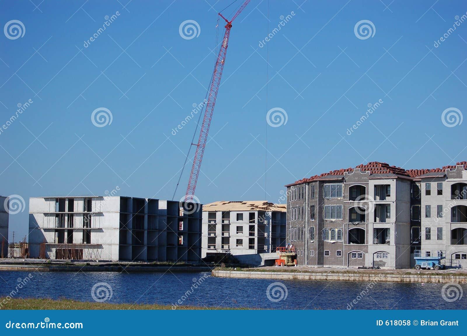 Flatgebouwen met koopflats