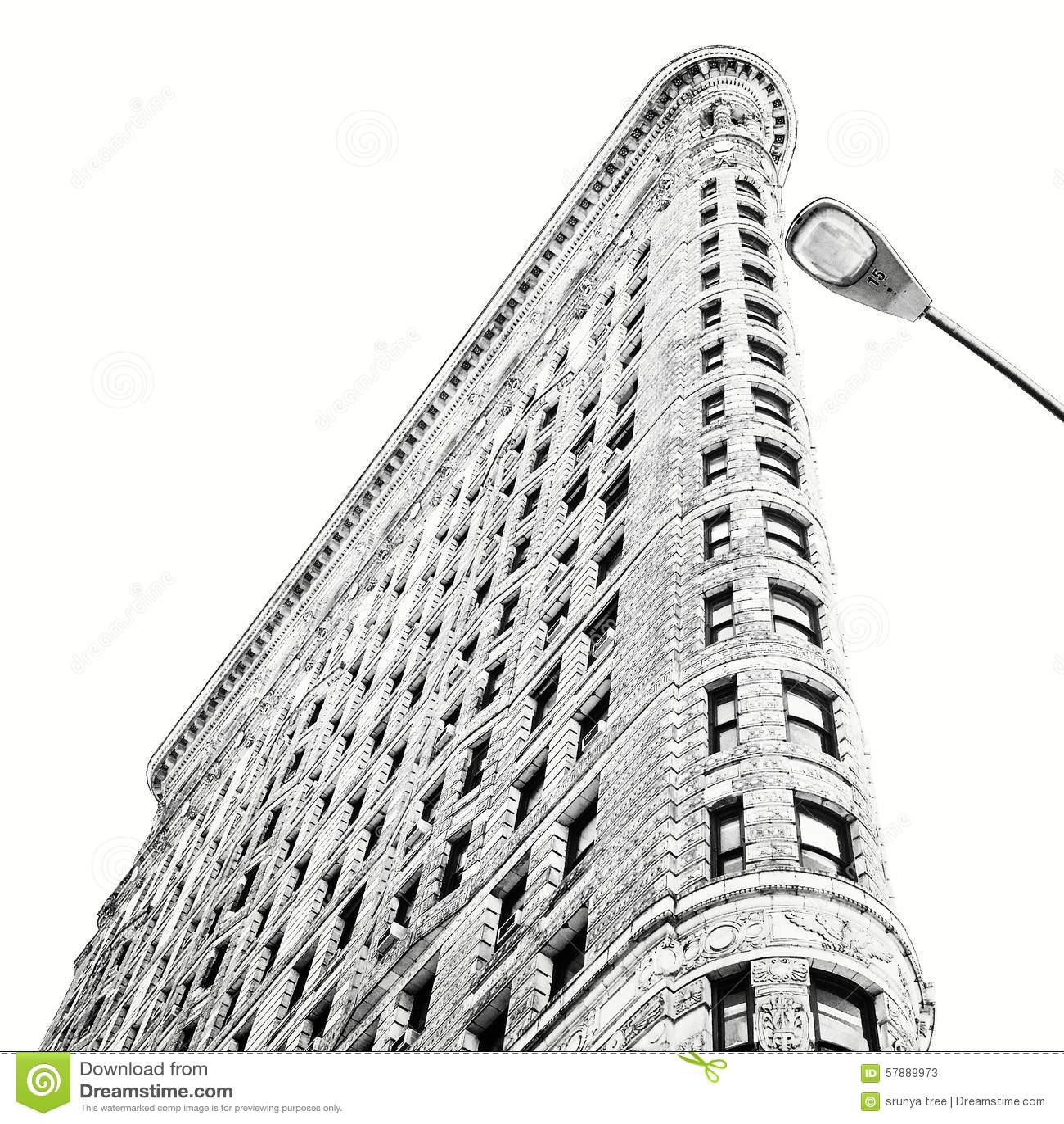 Flatiron Building Stock Photo - Image: 57889973