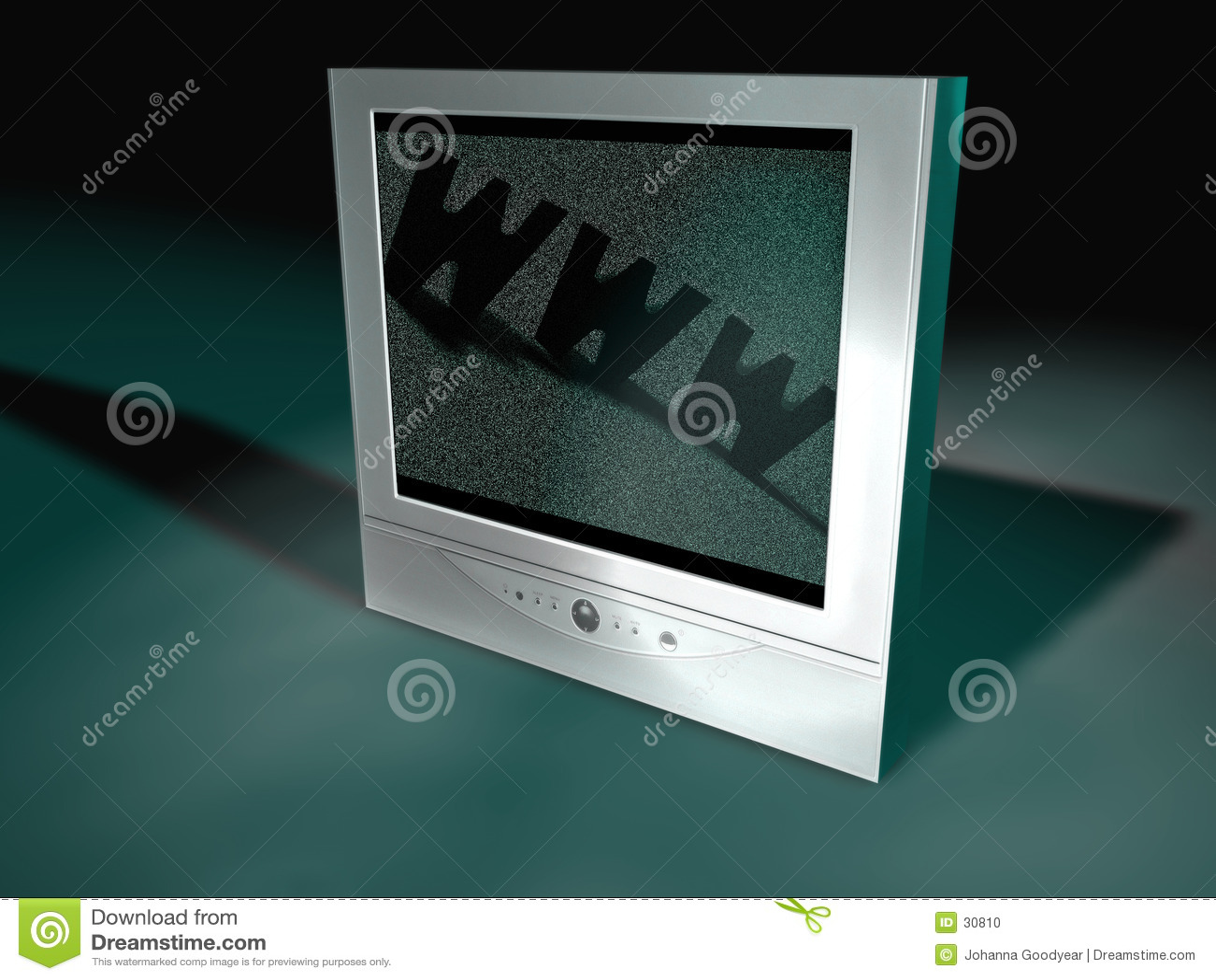 Flatscreen-Fernsehapparat