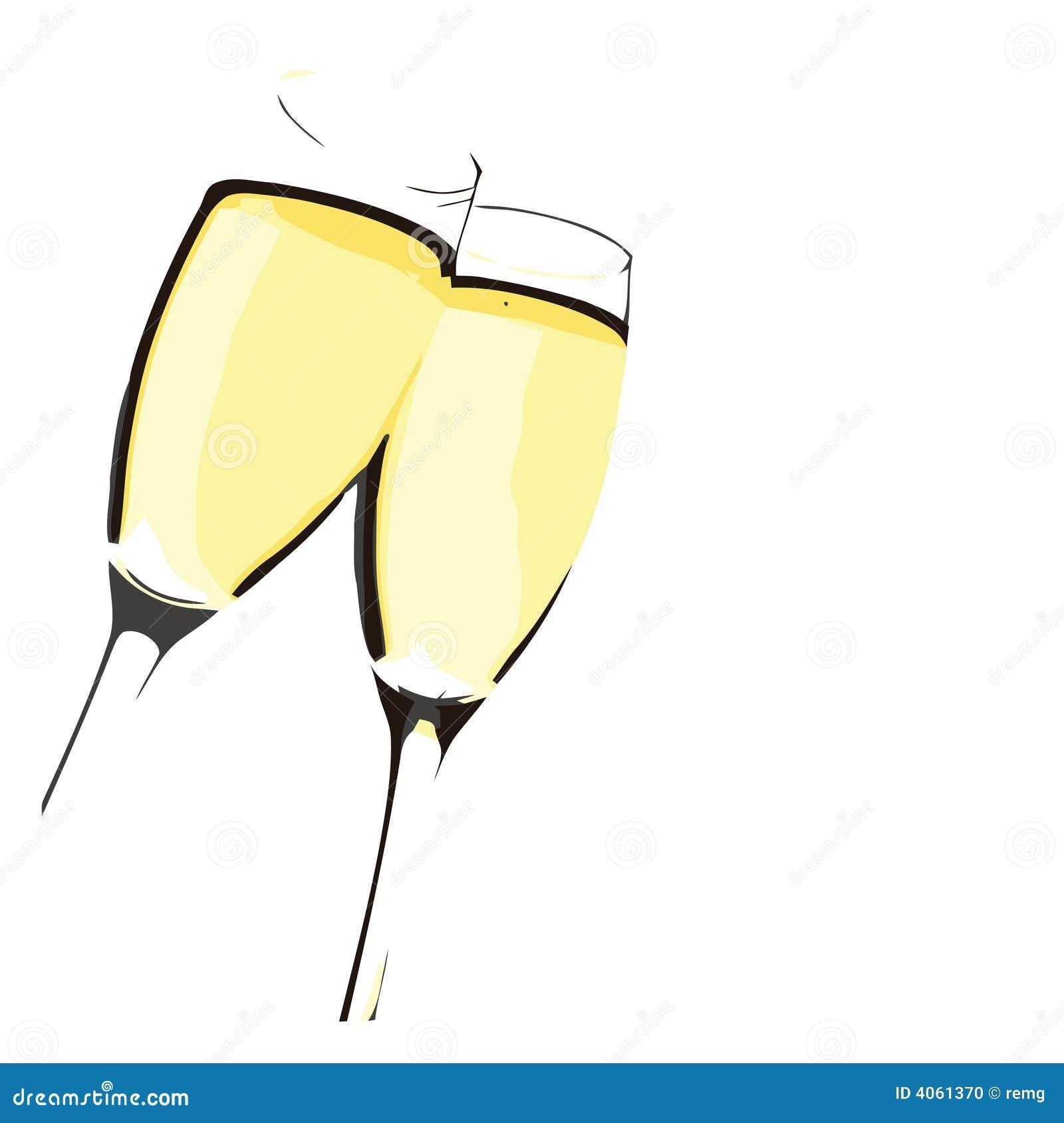 Flautas de Champagne