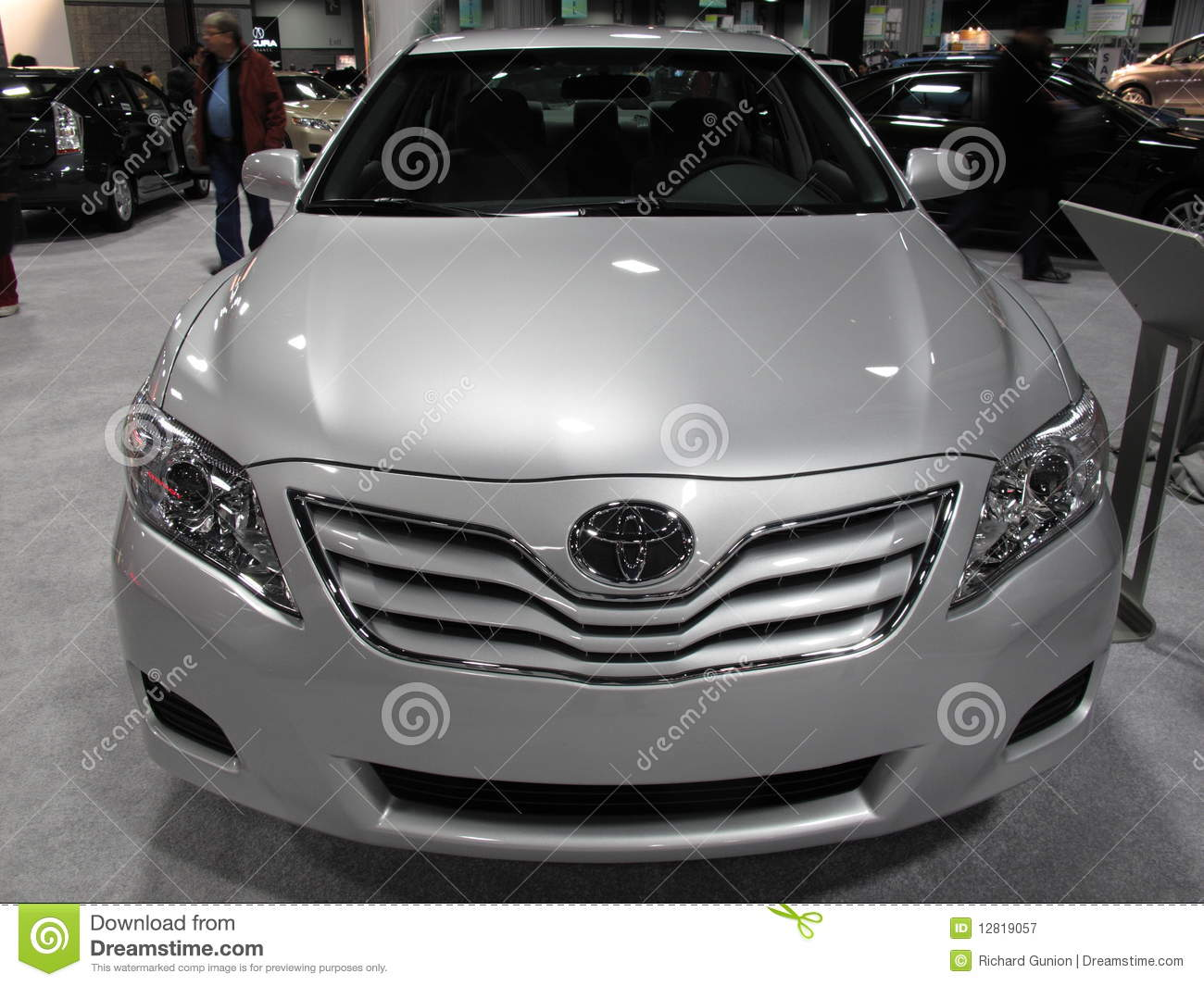 Flawed Toyota Camry Editorial Photography Image 12819057