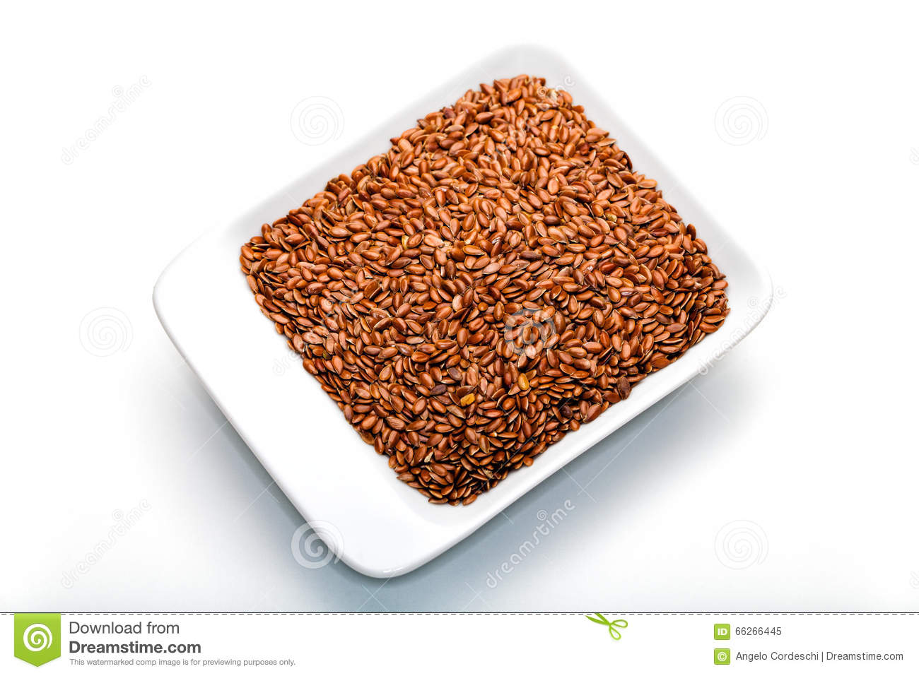 Ground flaxseed calories