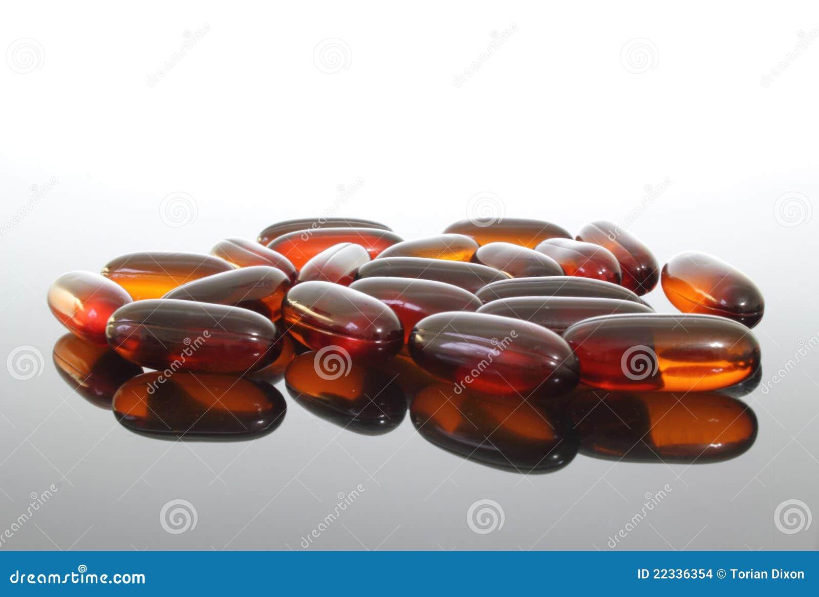 Flaxseed oleju pigułki