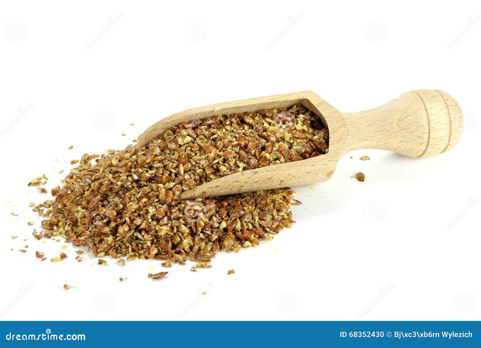 Flaxseed ziarno do zmielenia