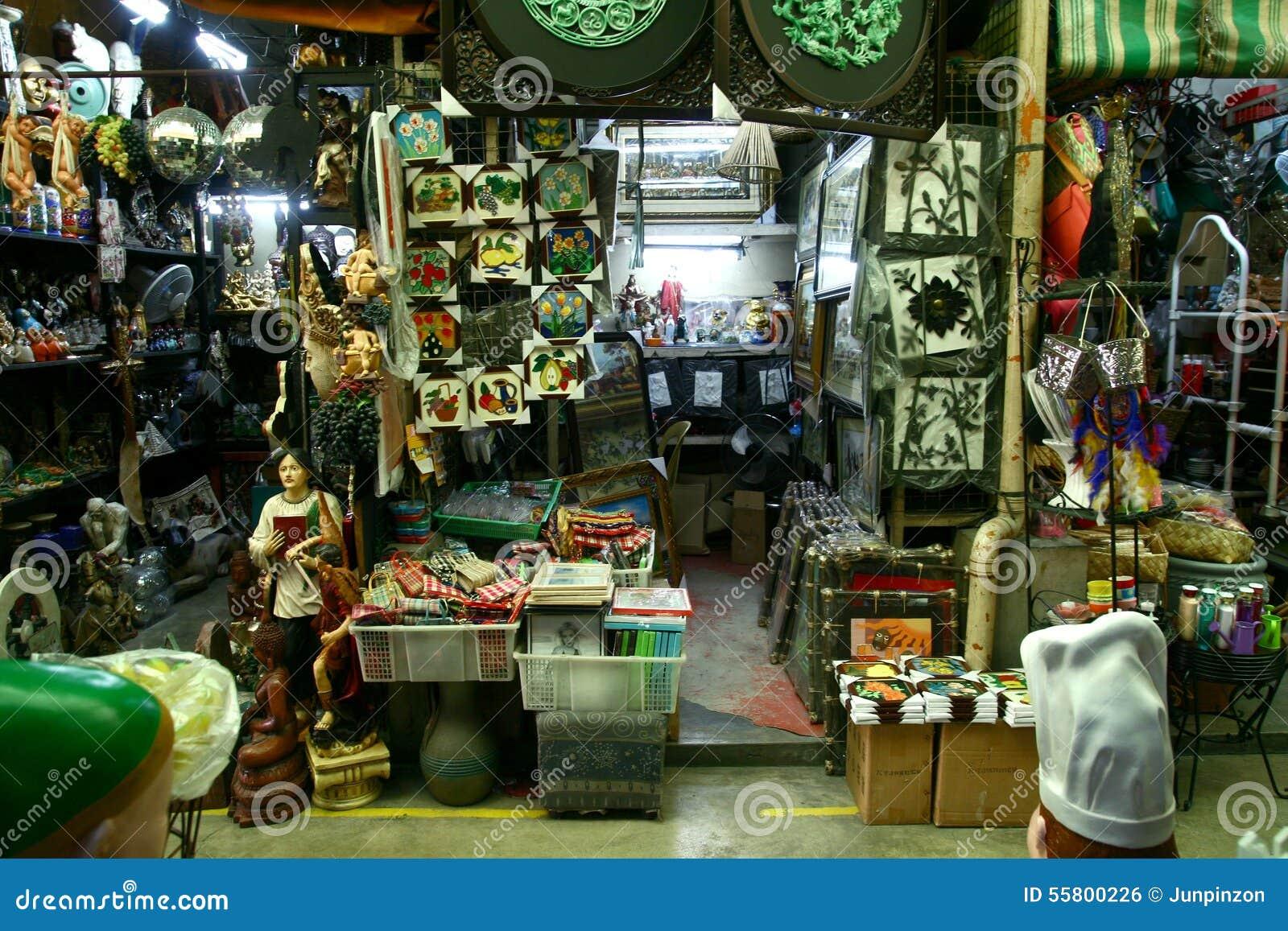 Flea Market Stores In Dapitan Arcade In Manila Philippines Selling Houseware And Home Decor