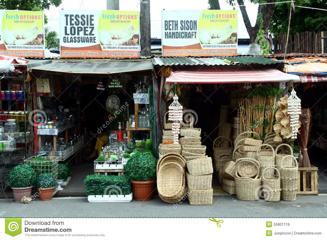 Flea market stores near dapitan arcade in manila for Home decorations sale