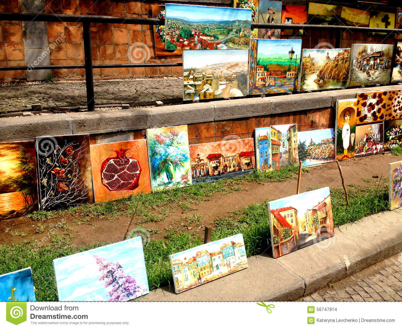 Georgia Tbilisi Flea Market Stock Photos Georgia Tbilisi: Flea Market Tbilisi, Georgia Editorial Stock Image