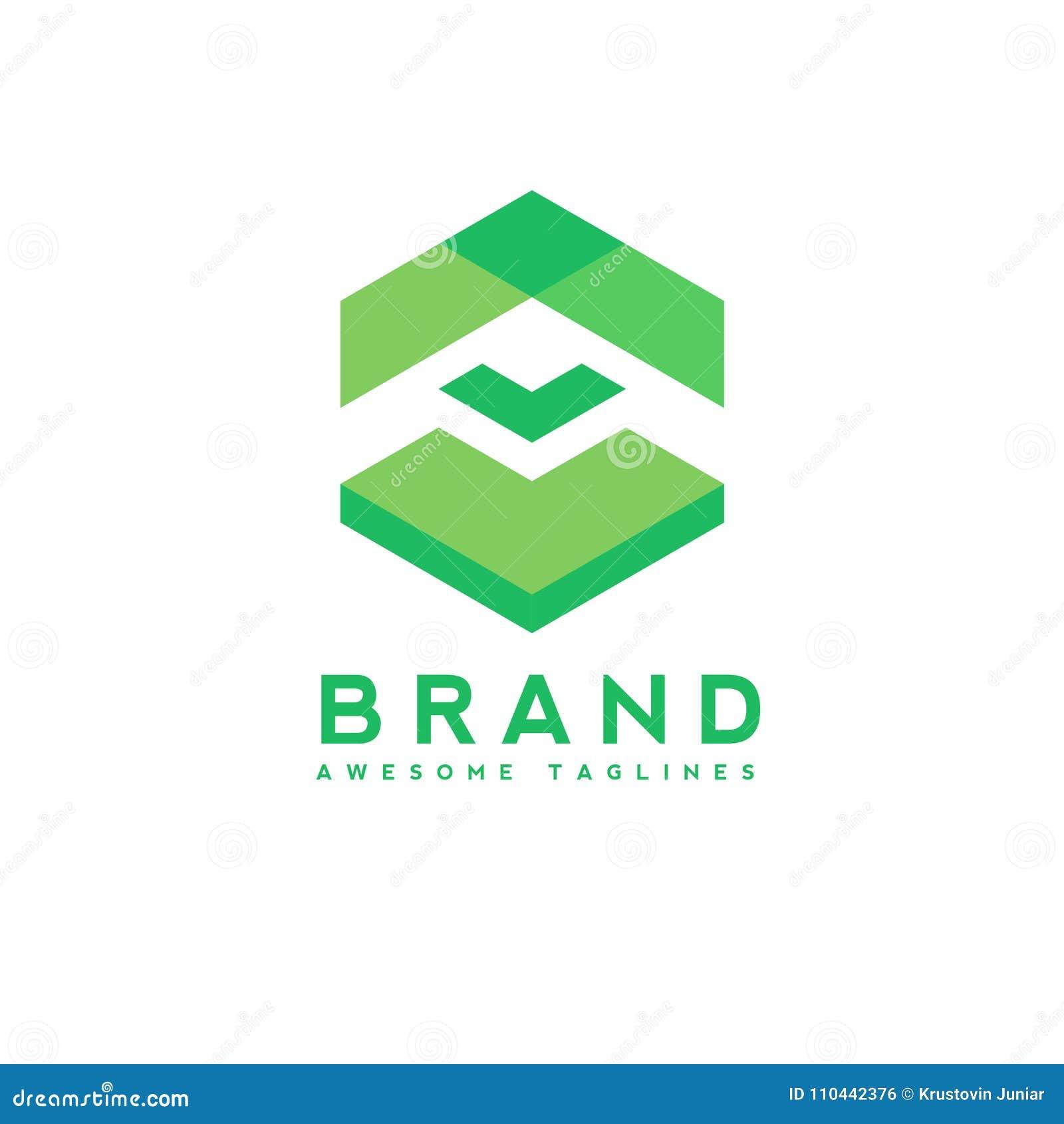 Flecha abstracta encima del logotipo del negocio, tecnología