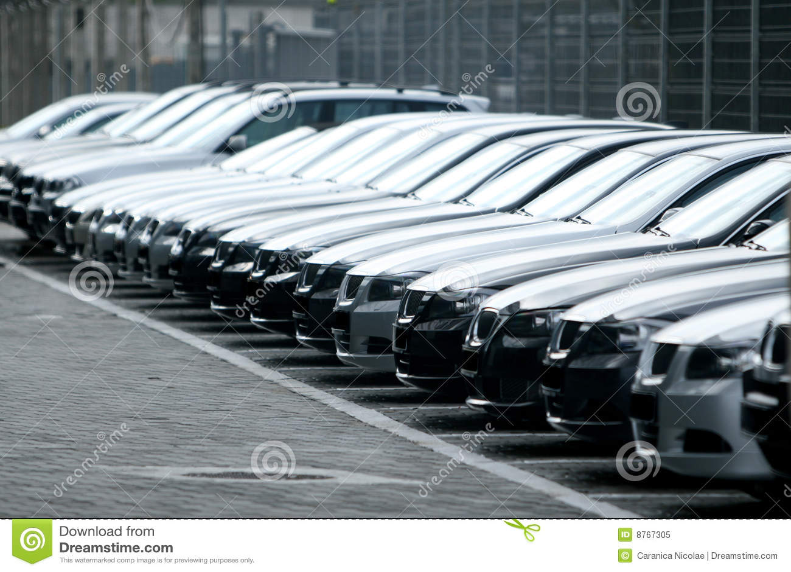 fleet of cars royalty free stock photo image 8767305. Black Bedroom Furniture Sets. Home Design Ideas