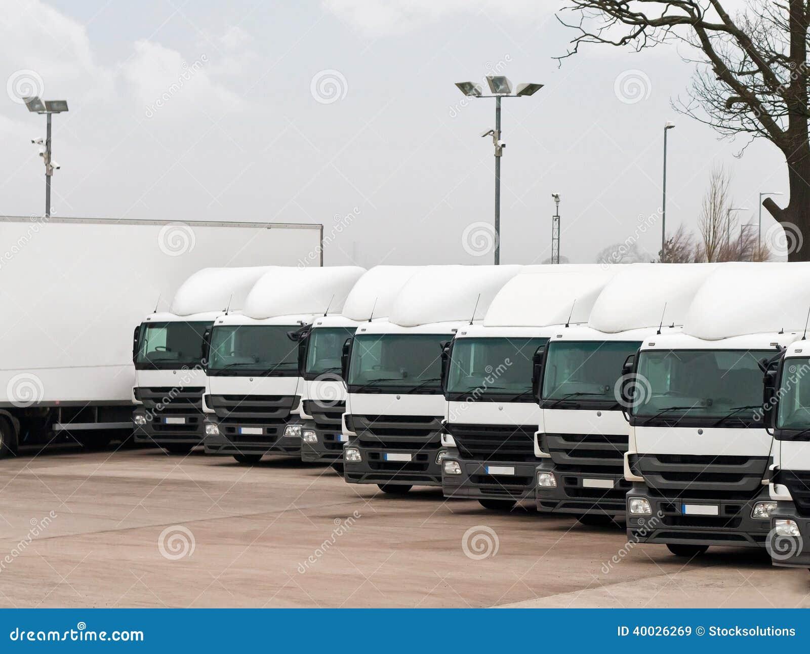 Fleet lorries