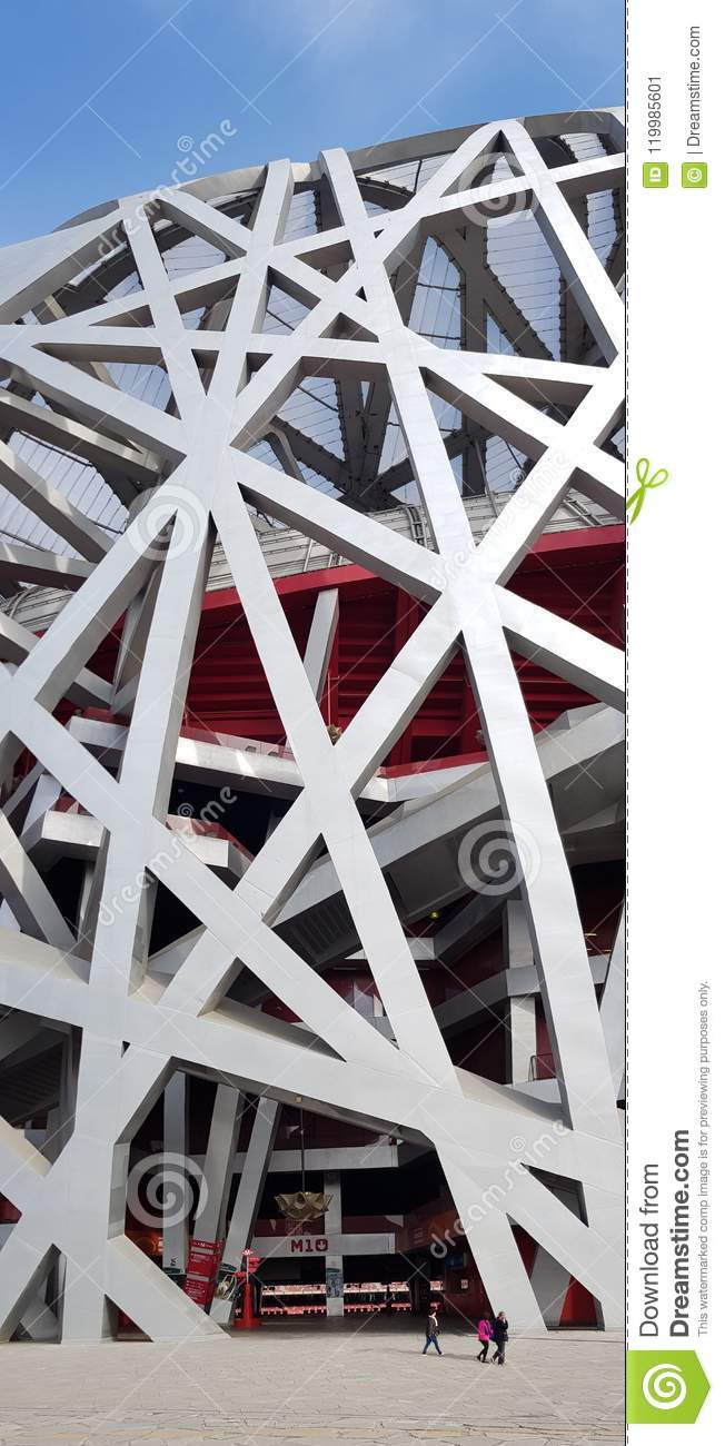 Fleeting the Nest, Beijing National Stadium