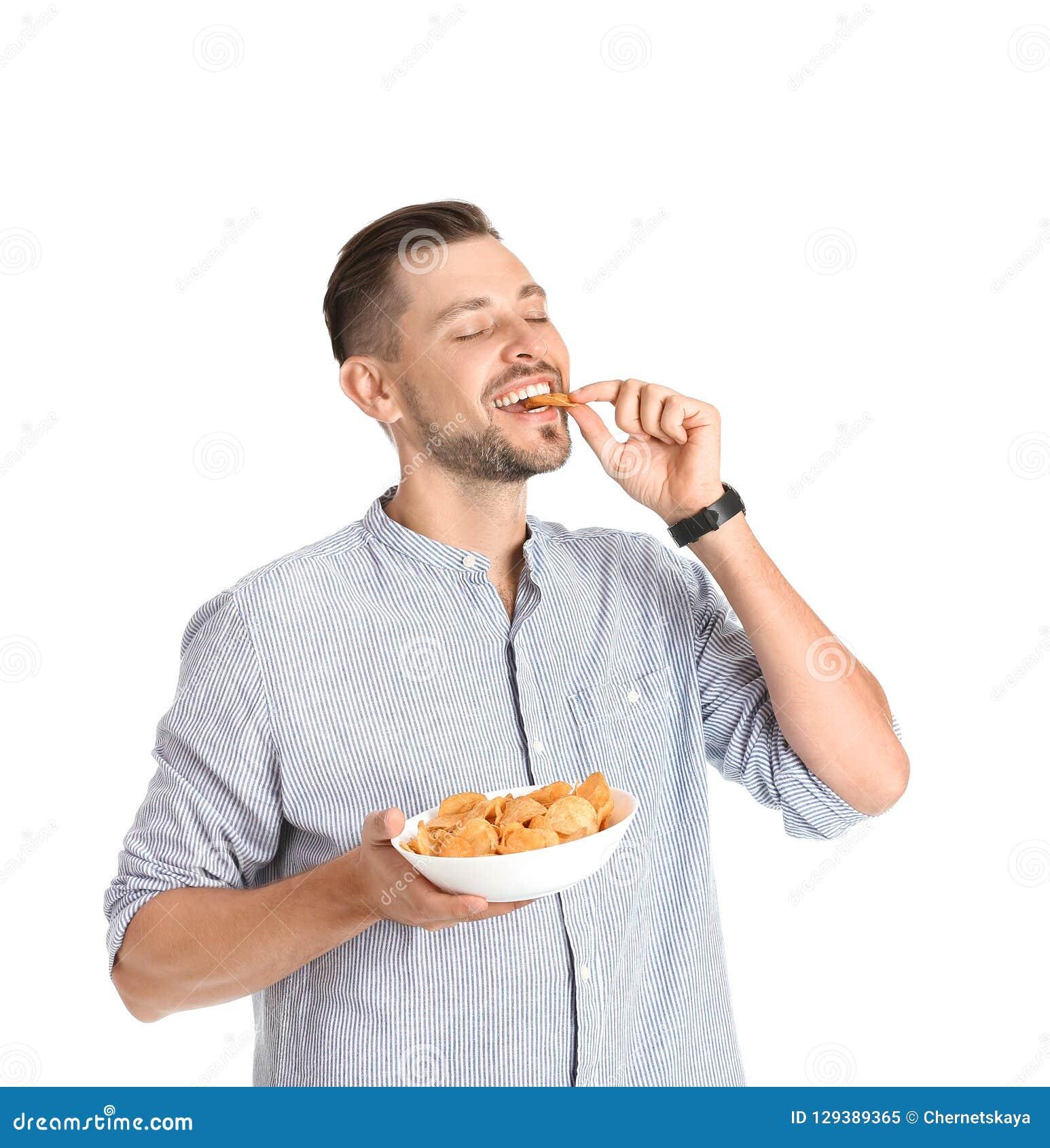 Fleisch fressende Kartoffelchips