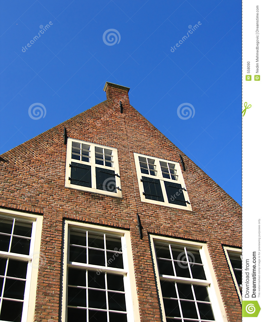 Download Flemish house stock photo. Image of historical, dutch, frontage - 558090