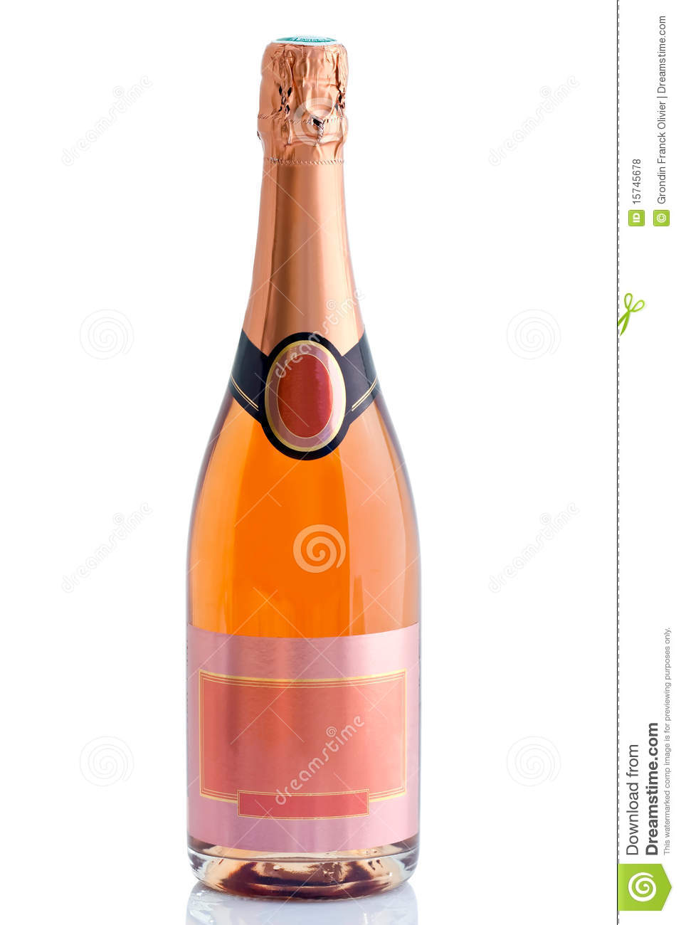 Fles champagne
